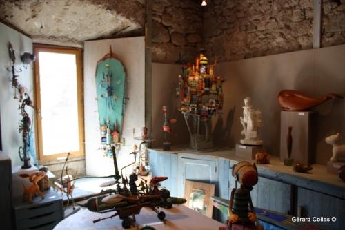 gérard collas, atelier d'été,exposition,2018