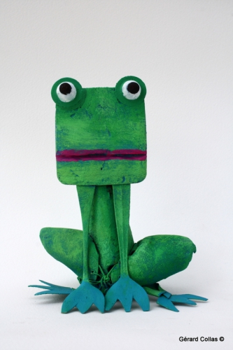 grenouille ,art ,assemblage