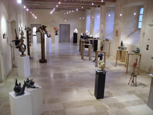Lucien Ghomri, Patrice Kauffman, Patrick Vogel ,gérard collas,exposition,carennac,2012,le mois de la pierre,