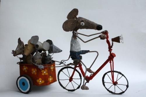 gérard collas -sculpteur-assemblage-art singulier-