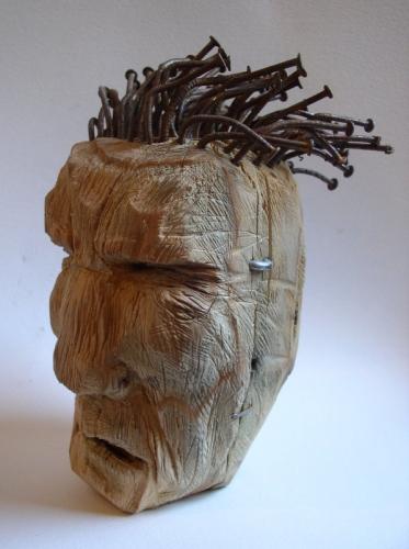 sculpture-assemblage-art singulier-gérard colas-indien
