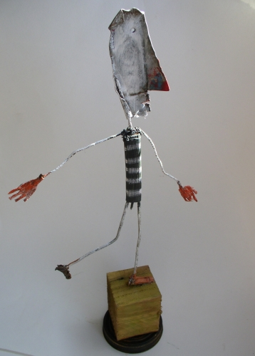gerard collas,assemblages sculpture
