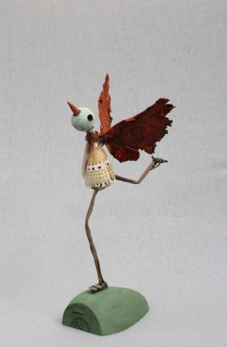 oiseau, assemblage, collas