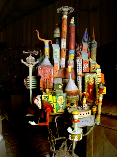 ,assemblages,gerard collas,sculpture