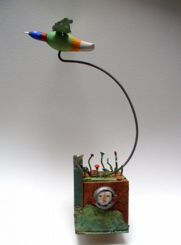 assemblages,sculpture,gerard collas