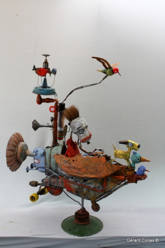 gérard collas,assemblage,art,marge,contemporain,