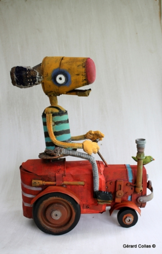 gerard collas ,assemblage ,tracteur