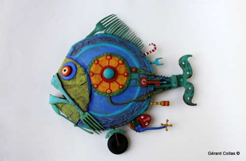 poisson assemblage, gérard collas, fourchette