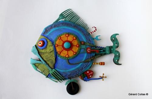 poisson assemblage, gérard collas, fourchette