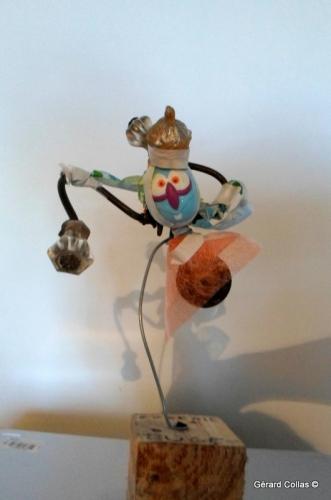 atelier ,récup,recyclage,assemblage,sculpture,collas