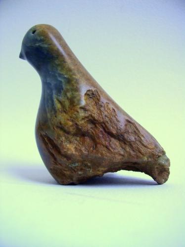 gérard collas -sculpteur-steatite-oiseau