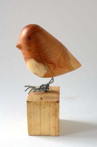 moineau,sculpture
