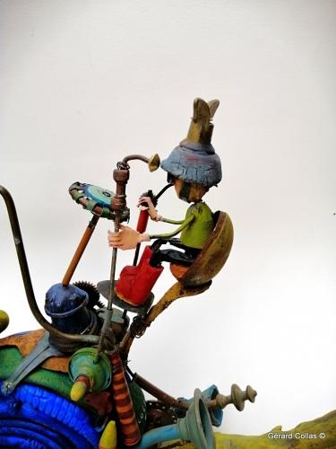 escargot-aquarelles-gérard collas-colas-assemblage