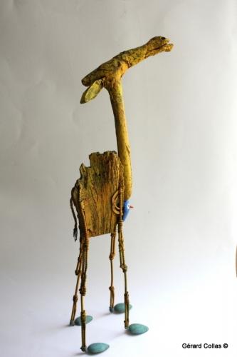 chameau, dromadaire, sculpture, gérard collas