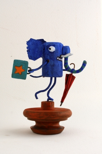 elephant, collas, assemblage