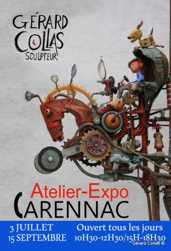 collas ,sculpture,exposition