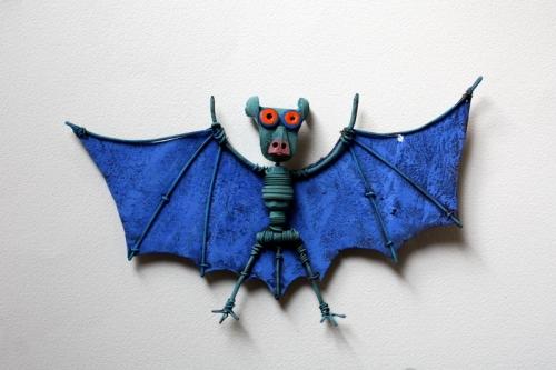 Collas ,assemblage, pipistrelle ,chauve souris