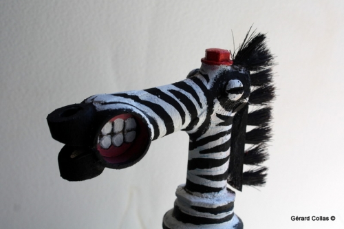zebre,collas,assemblage,recyclage,art
