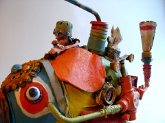 gérard collas -sculpteur-assemblages -sculpture-art singulier-el