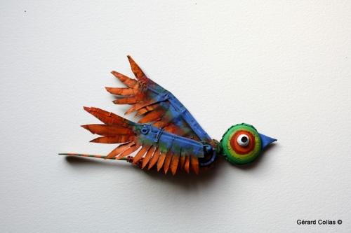 oiseau,collas, asseemblage