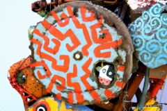 hippocampe, assemblage, gérard collas, colas,art, marge