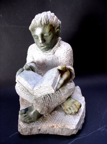 stéatite gerard collas pierre sculpture