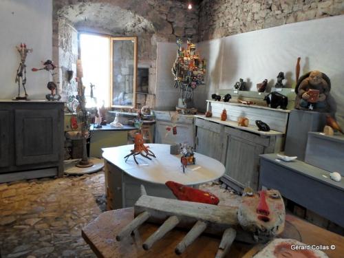 collas ,sculpture,exposition