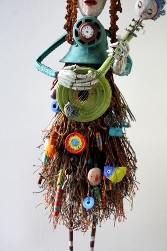 gérard collas -sculpteur-assemblage-art singulier-émerveilleur