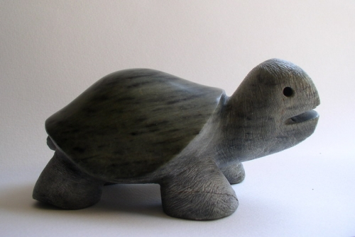 tortue-gérard collas-sculpteur-sculpture-pierre-stéatitze