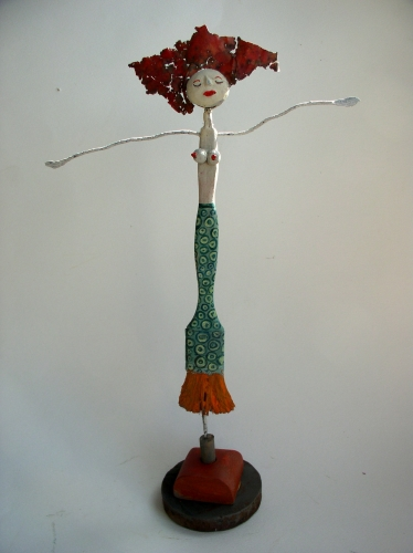 sirene,collas,assemblage,sculpture