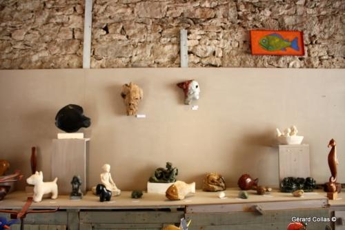 atelier, carennac, 2017, gérard collas