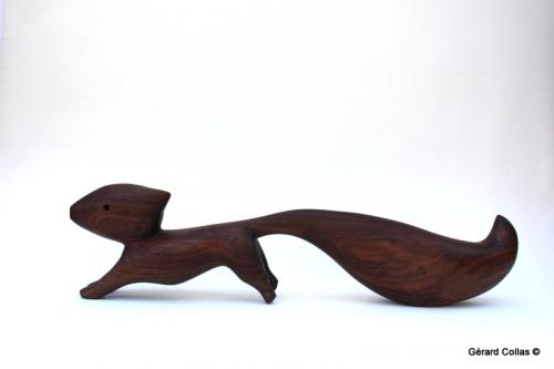 écureuil ,sculpture ,collas