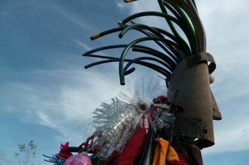 gérard collas,marie genevieve thoisy,sculpture,assemblage,biars,centrre culturel robert doisneau
