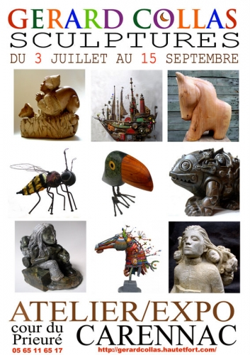 gerard collas,2012,exposition,affiche,art,sculpture