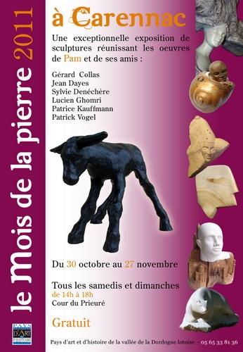 exposition,sculpture,pierre,novembre,2012, Gérard